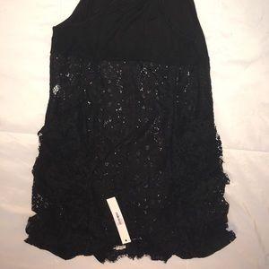 Ruffled lace bodysuit